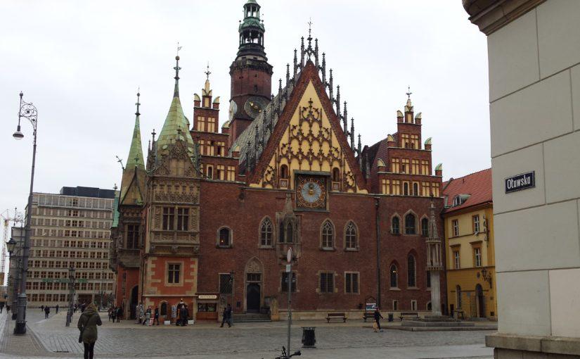ポーランド各都市訪問記: Wrocław(ヴロツワフ)