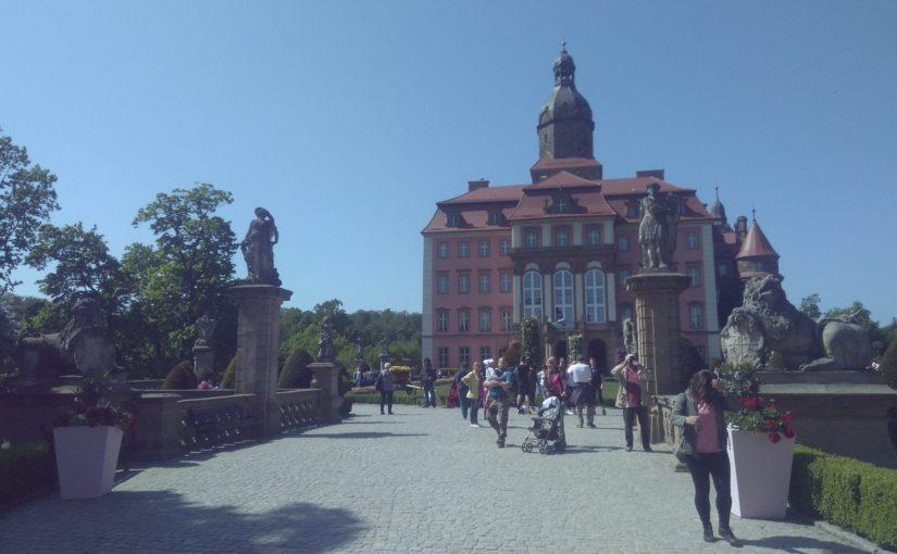 ポーランド各都市訪問記: Wałbrzych(ヴァウブジフ) クションシュ城