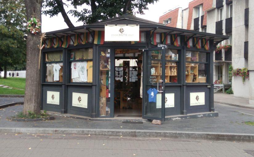 リトアニア旅行エピソード: 思い出のEthno Baltic Shop