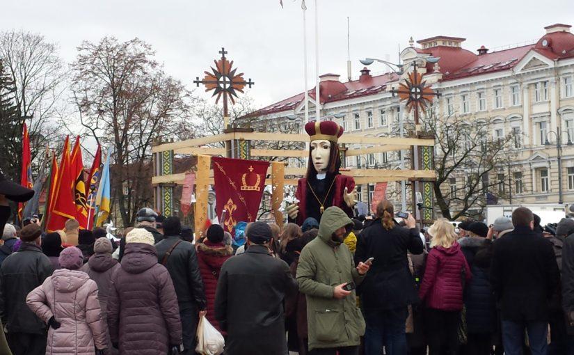 リトアニア旅行記: ヴィリニュス観光1回目